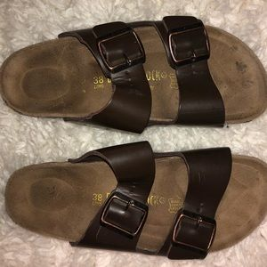 BROWN ARIZONA STYLE BIRKENSTOCKS